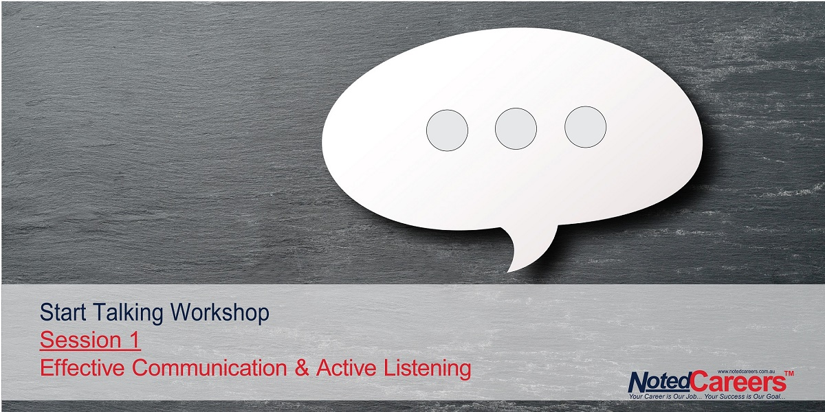 Effective Communication & Active Listening