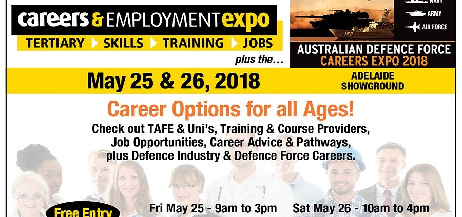 Adelaide Careers & Employment Expo 2018