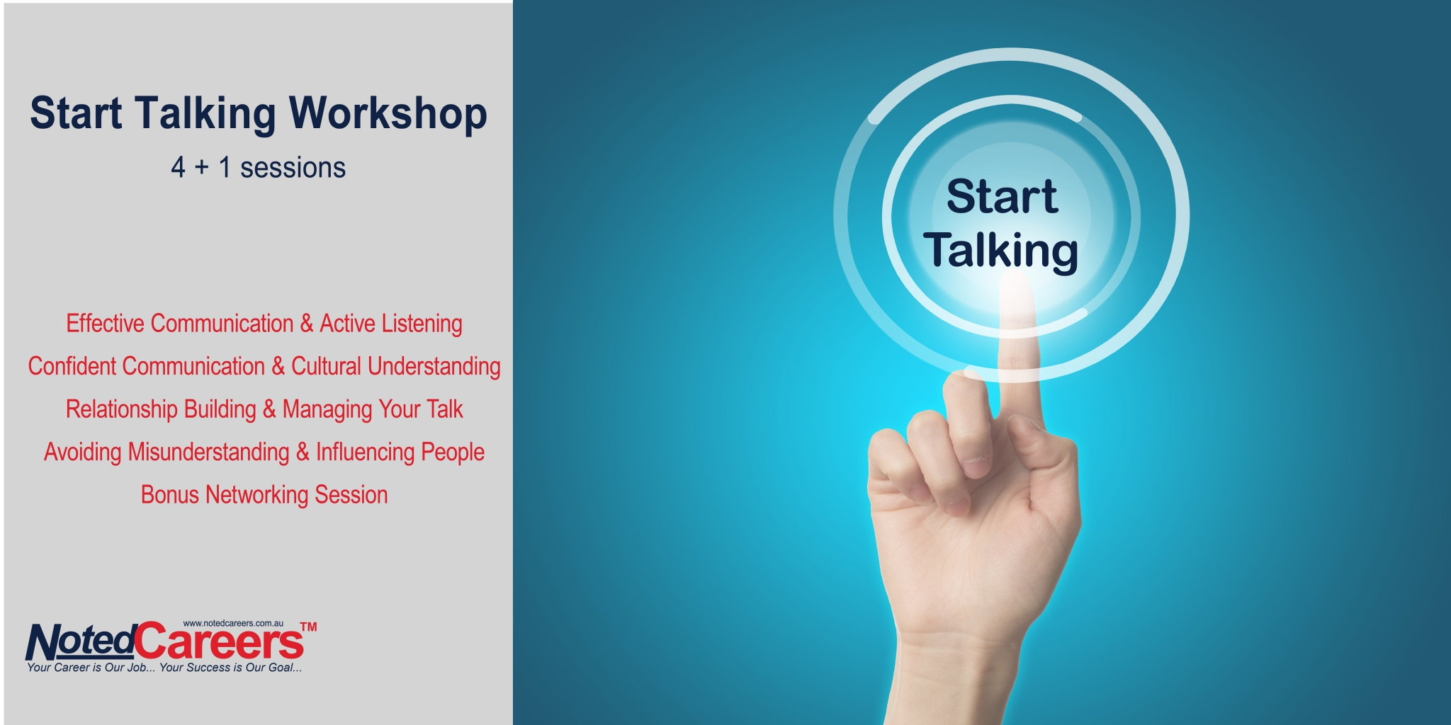Start Talking Workshop - 4-session package